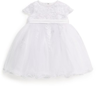 Sarah Louise Lace Ballerina Length Dress