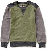 First Wave Big Boys 8-20 Long-Sleeve Colorblock Shirt
