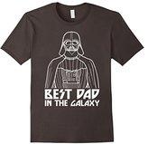 Star Wars Darth Vader Best Dad In Galaxy Graphic T-Shirt