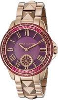 Vince Camuto Women's VC/5160PRRG Swarovski Crystal Accented Rose Gold-Tone Bracelet Watch