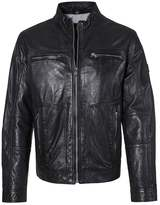 Otto Kern Leather Jacket Schwarz