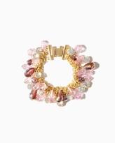 Charming charlie Sparkling Pears Shaker Bracelet