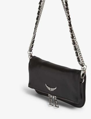 Zadig & Voltaire Rock Nano leather clutch