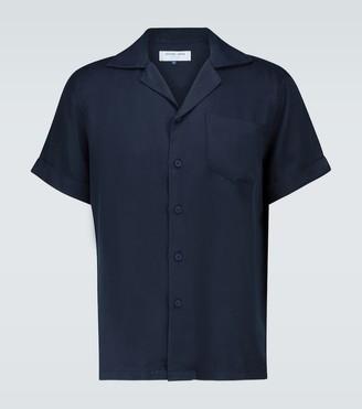 Frescobol Carioca TENCEL camp-collar shirt