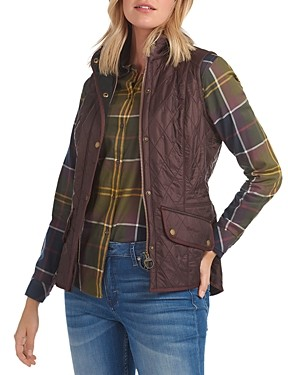 Barbour Cavalry Diamond-Quilted Gilet