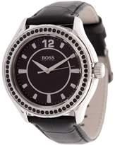 HUGO BOSS HB-1502268 Stainless Steel Case Calfskin Mineral Women's Watch