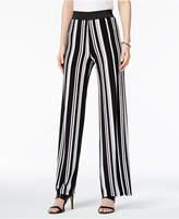 Alfani Petite Striped Palazzo Pants, Only at Macy's