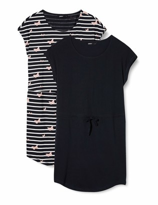 Only Women's ONLMAY Sofie Life S/S Dress 2PK JRS