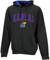 Colosseum Men's Kansas Jayhawks Arch Logo Hoodie
