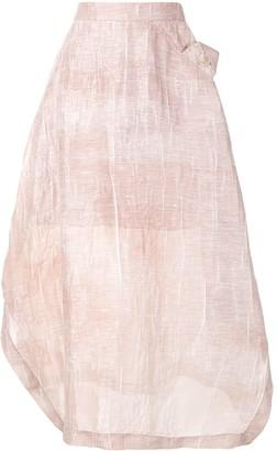 Emporio Armani Jacquard Midi Skirt