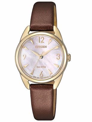 Citizen Women's Analogue Quartz Watch EM0686-14D