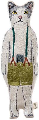 Coral & Tusk Kitty Pocket Doll natural linen/multi