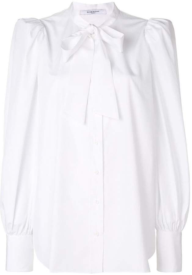 Givenchy pussy bow shirt