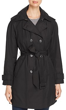 Kate Spade Double-Breasted Gabardine Trench Coat