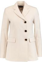 Theory Gregie Pioneer Textured-Crepe Coat