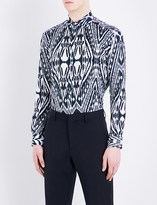 Etro Aztec Zebra-print regular-fit cotton shirt