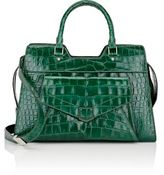 Proenza Schouler WOMEN'S CROCODILE PS13 SMALL SATCHEL-GREEN