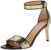 Marc by Marc Jacobs Women's Metallic Ankle Strap Dress Sandal