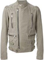 Balmain zip biker style jacket