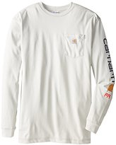 Carhartt Men's Big & Tall Flame Resistant Force Cotton Graphic Long Sleeve T-Shirt