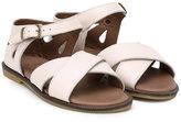 Pépé buckled sandals - kids - Calf Leather/Leather/rubber - 20