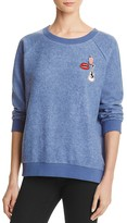 Honey Punch Cozy Patch Pullover