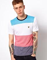 Lyle & Scott T-Shirt with Multi Block Colour