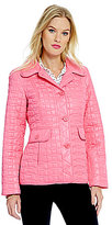 Kate Spade Packable Short Quilted Jacket With Bag