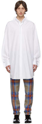Maison Margiela White Long Shirt