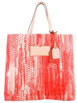 Reed Krakoff Printed Canvas Tote
