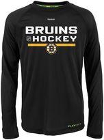 Reebok Boys 8-20 Boston Bruins Authentic Freeze Performance Tee