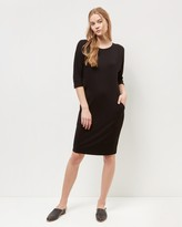 Jaeger Jersey Seam Detail Dress