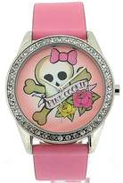 Pink Cookie Cookie Ladies-Girls Analogue Dial & PU Strap Watch PCL-0011