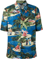 Just Cavalli short sleeve Hawaiian shirt - men - Cotton - 48