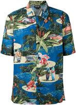 Just Cavalli short sleeve Hawaiian shirt