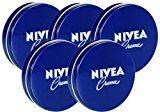 Nivea Moisture Cream 60ml X 5pcs - Highly Enriched Cream Is Formulated to Soften and Condition Dry to Extremely Dry Skin