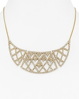 Alexis Bittar Lattice Bib Necklace, 16