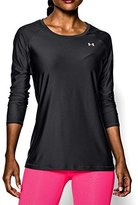 Under Armour Women's UA HeatGear Armour Long Sleeve Black