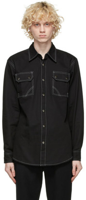 Youths in Balaclava Black Giles Shirt
