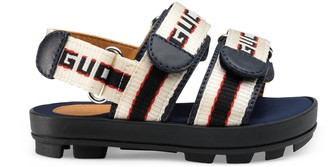 Gucci Toddler stripe sandal