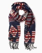 Charming charlie Southwestern Jacquard Blanket Scarf