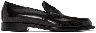 Fendi Black Forever Loafers
