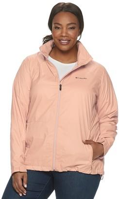 Columbia Plus Size Switchback III Hooded Packable Jacket