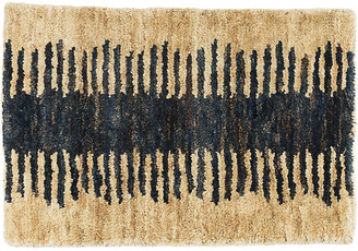 Dash & Albert Fez Jute Rug - Natural/Deep Ink 5'x8'