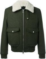 Ami Alexandre Mattiussi zipped jacket - men - Virgin Wool/Polyimide - S
