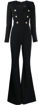 Balmain button-embellished jumpsuit