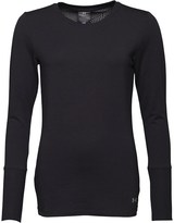 Under Armour Womens ColdGear Infrared Fitted Long Sleeve Crew Neck Top Black