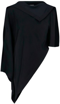 MM6 MAISON MARGIELA Asymmetric Draped Blouse