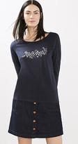 Esprit Floaty cotton blend T-shirt