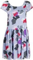 Emporio Armani floral printed mini dress